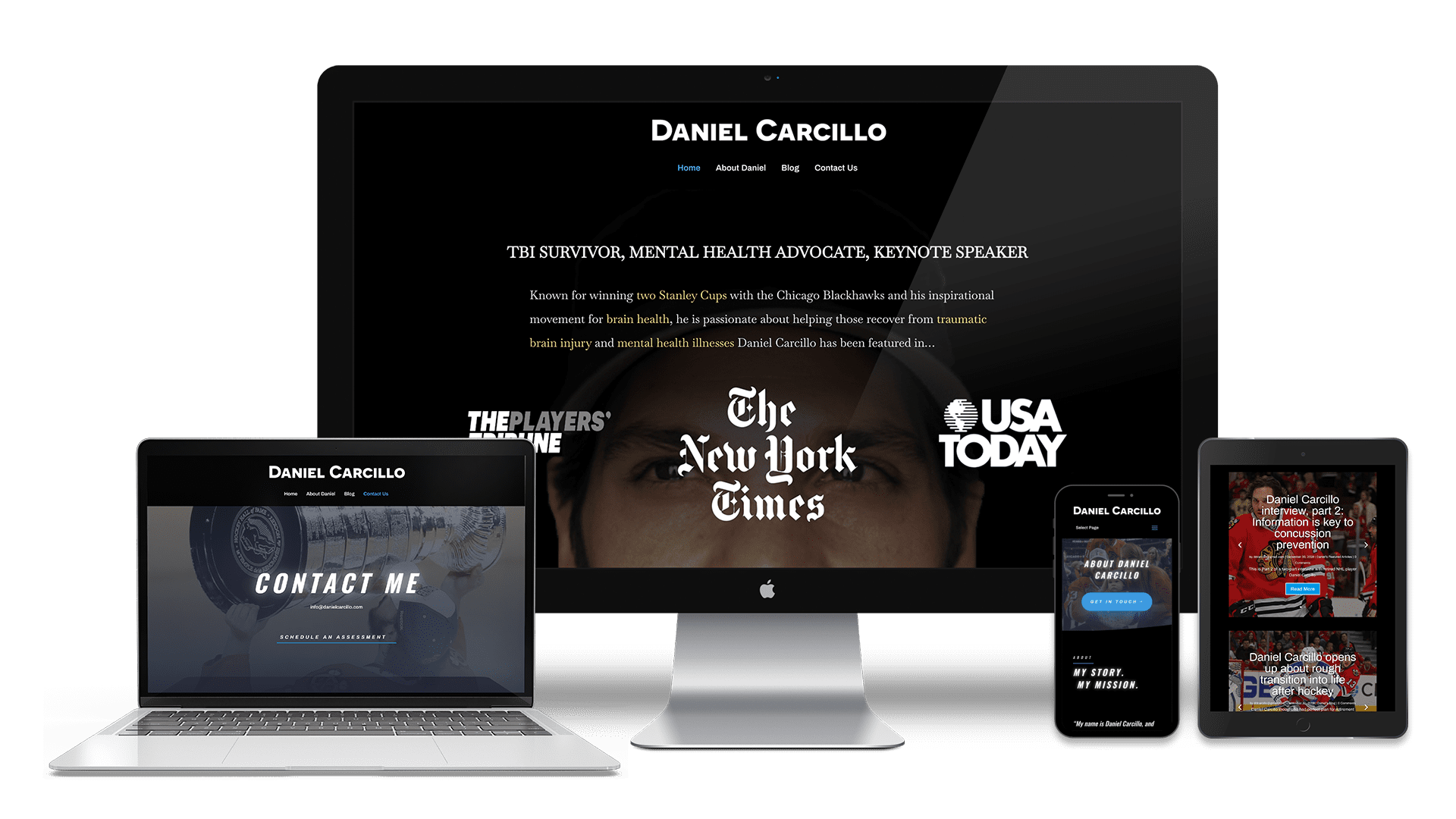 Daniel Carcillo Website